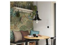 GAMLARED Table - teinté clair à l'ancienne/teinté noir 33 1/2